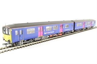32-927 Class 150/1 2 car DMU 150128 in First Great Western livery.