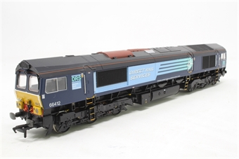 32-976DC-PO03 Class 66/9 66412 in DRS Livery (DCC Fitted) - Pre-owned - Like new