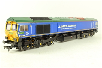 32-979z Class 66 66623 'Bill Bolsover' in Bardon Aggregates/Freightliner livery - Kernow Limited Edition
