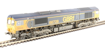 """32-980A Class 66/7 66728 """"Institution of Railway Operators"""" in GB Railfreight livery - weathered"""