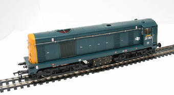32-025 Class 20 20063 in BR Blue with Indicator Discs