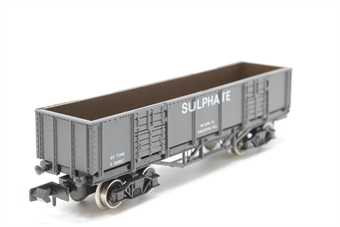 3205Farish-PO08 Bogie Wagon in Sulphate Grey - Pre-owned - Like new - imperfect box