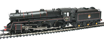 "32-502 Standard class 5MT 73082 ""Camelot"" & BR1B tender in BR black with early emblem"
