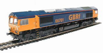 32-727 Class 66 66701 in GBRF Livery
