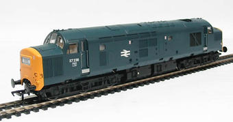 32-777 Class 37/0 37238 in BR Blue with Centre Head Code