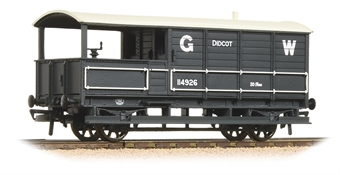 33-300G GWR 20 ton 'Toad' brake van 114926 in GWR grey