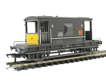 33-355A 20 Ton Brake Van in Grey 'Railfreight Distribution'