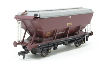 33-576-PO07 46 Tonne CEA Covered Hopper Wagon 360762 in EWS Red Livery - Pre-owned - Like new - Imperfect box
