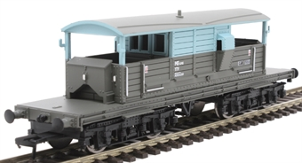33-825X 25 ton Queen Mary brake van ADS56289 in engineers grey and blue - Limited Edition for Kernow Model Rail Centre