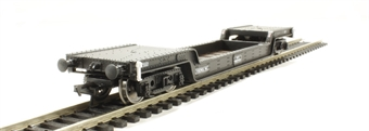 33-902 45 ton bogie well wagon in BR Departmental black