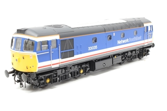 3302-PO03 Class 33/0 diesel 33035 in Network South East revised livery - Pre-owned - Like new