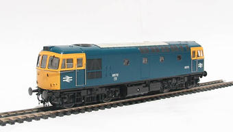 3311 Class 33/0 diesel 6572 in BR blue with full yellow ends