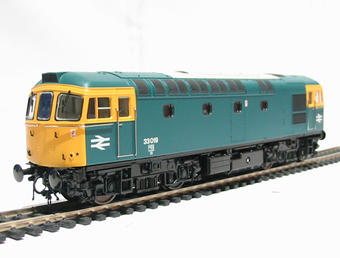 3315 Class 33/0 diesel 33019 in BR blue livery