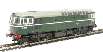 3318 Class 33 diesel D6585 in BR green