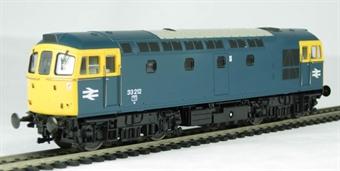 3320 Class 33/2 diesel 33212 in BR blue