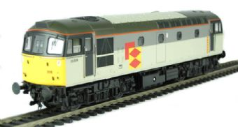 3321 Class 33/2 diesel 33205 in Railfreight Distribution