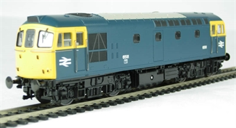 3322 Class 33/2 diesel 6591 in BR blue without headlights