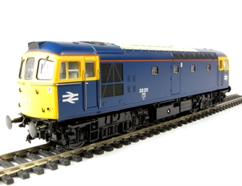 3324 Class 33/2 diesel 33211 in BR blue with full yellow ends