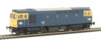 3326 Class 33 Diesel 33202 in BR Blue with full yellow ends