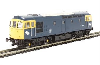 3328 Class 33/2 6593 in BR Blue with full yellow ends