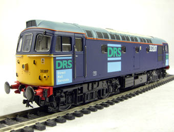 3331 Class 33/2 diesel 33207 in DRS livery