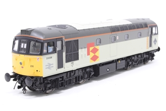 3337-PO Class 33/2 33206 in Railfreight Distribution sector grey - Pre-owned - DCC Sound-fitted