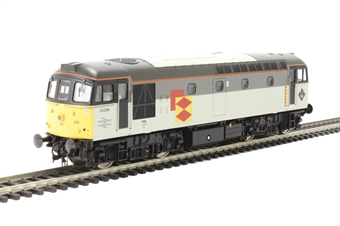 3337 Class 33/2 33206 in Railfreight Distribution sector grey