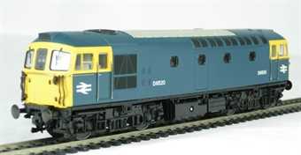 3341 Class 33/1 diesel D6520 in BR blue with yellow ends