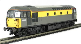 "3342 Class 33/1 diesel 33108 in Civil Engineers ""Dutch"" livery £57"