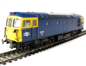 3343 Class 33/1 diesel 33118 in BR blue