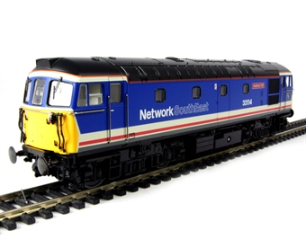 """3344 Class 33/1 diesel 33114 """"Ashford 150"""" in Network South East livery"""