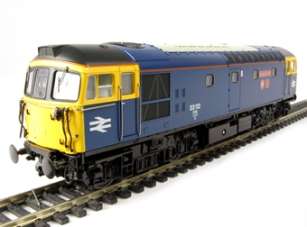 "3345 Class 33/1 diesel 33112 ""Templecombe"" in BR blue livery"