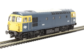 3348 Class 33/1 D6511 in BR Blue with full yellow ends