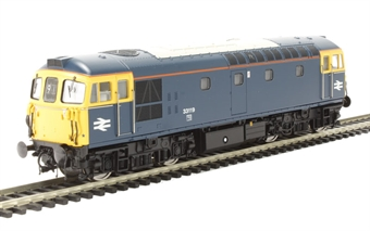 3349 Class 33/1 33119 in BR Blue with full yellow ends