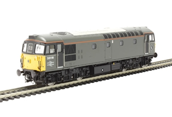 3357 Class 33/1 33116 in BR engineers grey