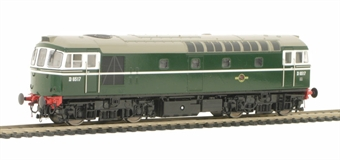 3362 Class 33/0 diesel D6517 in pristine BR plain Green livery (Glossy Finish).