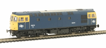 3382 Class 33/0 D6579 in BR Blue with full yellow ends