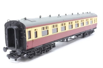 34-055-PO09 60ft. Collett 2nd Class Corridor Coach W1123 in BR Crimson & Cream Livery - Pre-owned - Like new - Imperfect box