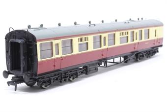 34-056-PO05 Collett 60ft 2nd coach W1139W in BR crimson/cream - Pre-owned - Like new, imperfect box £32