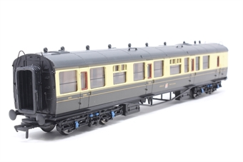 34-076A-PO08 Collett 60ft 1st/3rd brakend coach 6421 in GWR chocolate/cream. - Pre-owned - Like new