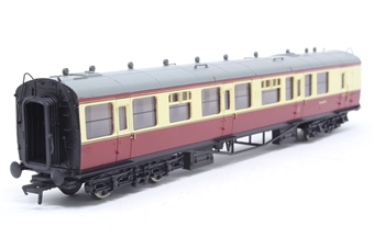 34-081-PO09 Collett 60ft 1st/2nd brakend coach W6608W in BR crimson/cream - Pre-owned - Like new
