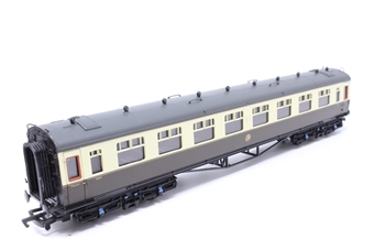 34-101-PO06 Collett 60ft 1st coach in GWR Shirtbutton chocolate & cream - Pre-owned - Like new