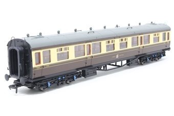 34-128-PO02 Collett 60ft 1st/3rd composite 7318 in GWR chocolate & cream - Pre-owned - Like new