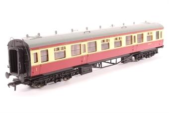 34-131-PO03 Collett 60ft 1st/2nd composite coach in BR crimson/cream - Pre-owned - Like new