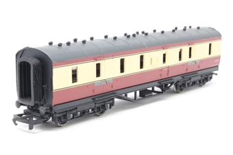34-326-PO02 Period 3 50' full brake M31319 in BR Crimson and Cream - Pre-owned - Windown panel loose inside coach - Glue marks on body - Paint marks on roof
