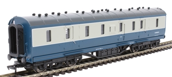 34-332 Ex-LMS PIII Parcels Van in BR blue and grey