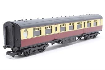 34-375-PO06 Thompson 63ft 2nd corridor coach in BR crimson/cream (E1056E) - Pre-owned - Like new - imperfect box