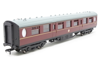 34-378A-PO09 Thompson 63ft 2nd class corridor in BR maroon - Pre-owned - Like new