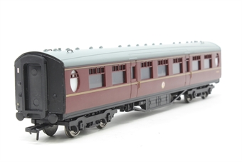 34-378A-PO10 Thompson 63ft 2nd class corridor in BR maroon - Pre-owned - Like new