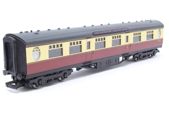 34-400-PO02 59ft. 6in. Thompson Composite Corridor Coach E1207E in BR Crimson & Cream Livery - Pre-owned - detailed with nameplates ''The Elizabethan - Kings Cross- Edinburgh'' - missing 1 buffer Imperfect box